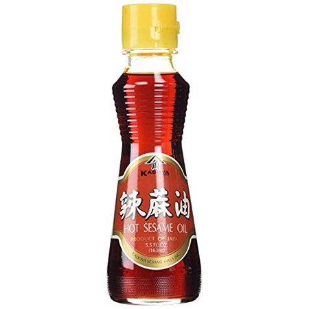 Kadoya Hot Sesame Oil 5.5 Ounce (Pack of (Hot Sesame Oil)