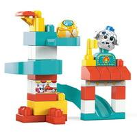 Deals on Mega Bloks Peek A Blocks Amusement Park 35Pcs