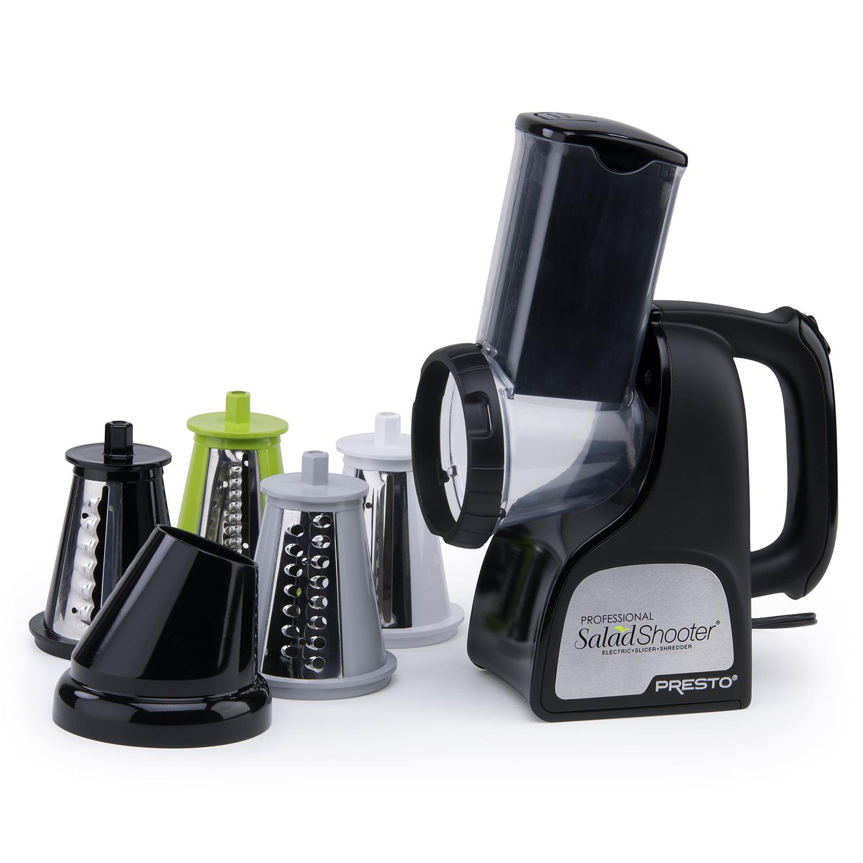 Presto Professional SaladShooter® electric slicer/shredder white ...