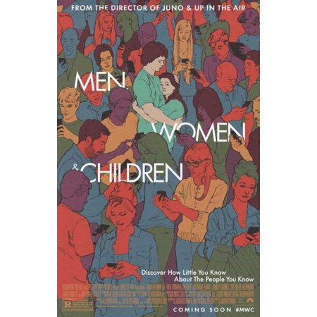 Men Women and Children Movie Poster (11 x 17) - X Men Kids