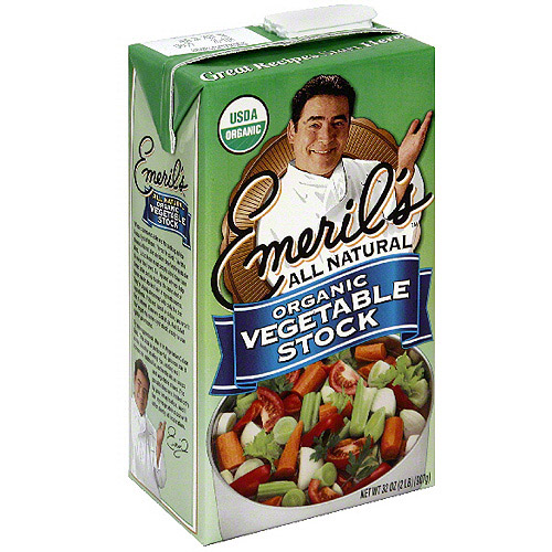 e Emeril's All Natural Vegetable Cooking Stock, 32 oz (Pack of 6)