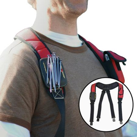 MagnoGrip Magnetic Suspenders 203-215 Work Hardware Nut Bolt