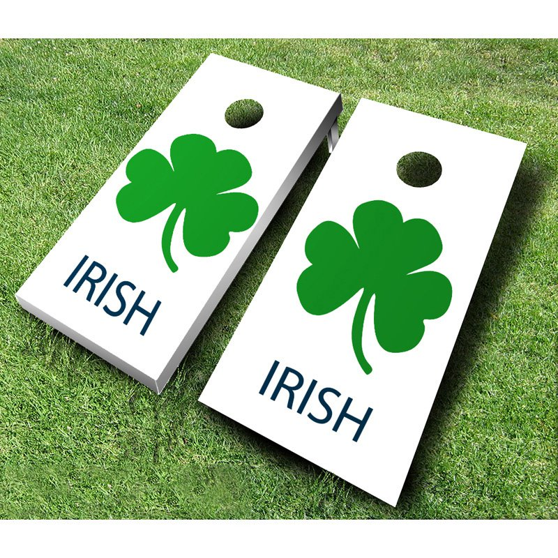 Ajj Cornhole Irish Tournament Cornhole Set