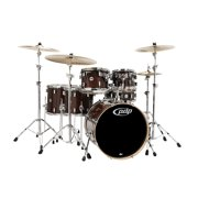 PDP by DW Concept Maple 6-Piece Shell Pack Transparent Walnut