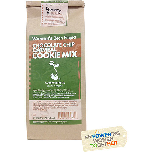 Women's Bean Project Chocolate Chip Oatmeal Cookie Mix, 20.8 oz