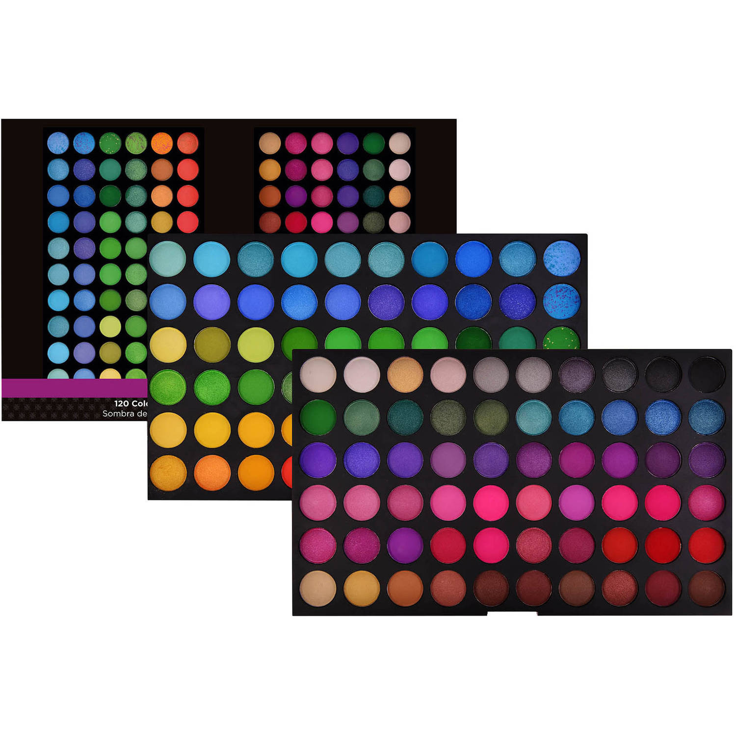 SHANY Bold and Bright Collection Vivid Eye Shadow Palette, 16.6 oz