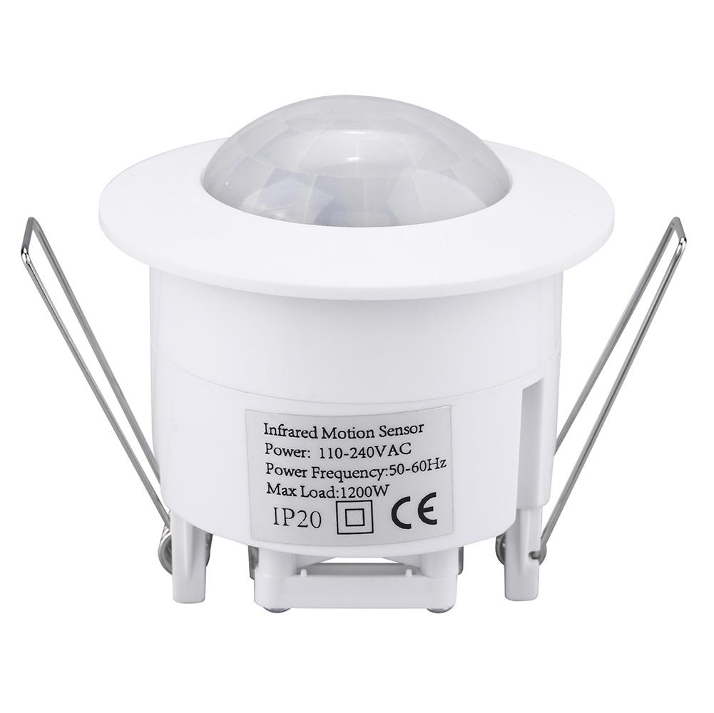 Peahefy Mini Adjustable 360 U00b0 Ceiling Pir Infrared Body