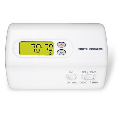 Non-Programmable Digital Thermostat, Standard Heat Pump (...