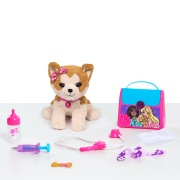 Barbie Pet Doctor Set - Brown & White Puppy