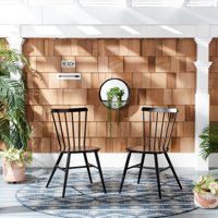 Chester Outdoor Side Chairs Black