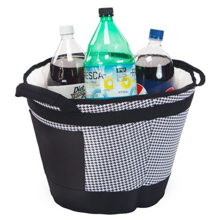 Picnic Plus Austin 18 Can Houndstooth Ice Bucket