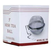 "Frontier Co-Op Stainless Steel Mesh Tea Ball 3"" 1 Unit"