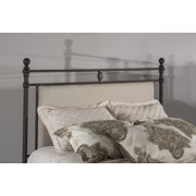 Hillsdale Furniture Ashley Metal and Upholstered Headboard Only, Multiple Sizes
