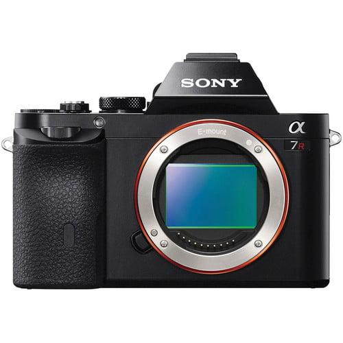 Sony Alpha a7R Full Frame Mirrorless Camera Black by Sony
