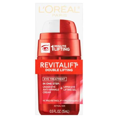 L'Oreal Paris Revitalift Double Lifting Eye Treatment, 0.5 fl.