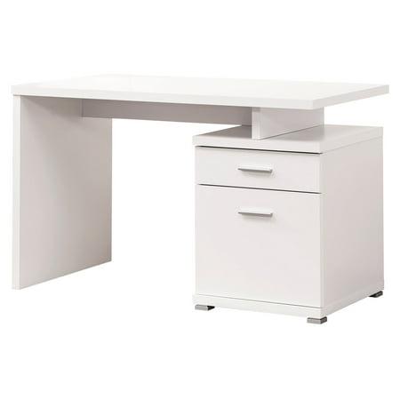 Coaster White Contemporary Style - Prairie Style Desk