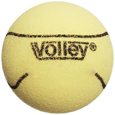 Volley Foam 85kg Uncoated Tennis Ball, Yellow, 3-1/2