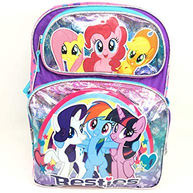 Backpack - My Little Pony - Rainbow Dash Besties Girls New 169811 - My Little Pony Backpacks