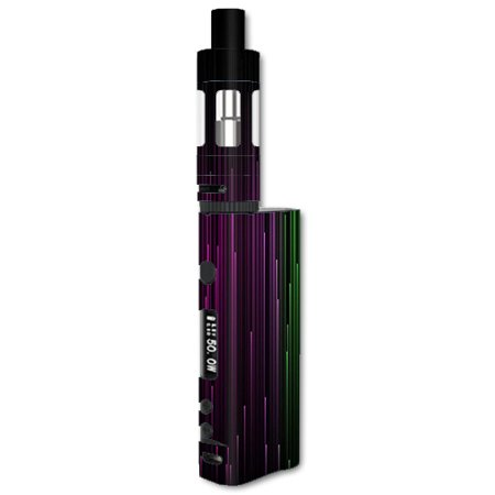 Skin Decal For Kanger Subox Nano Vape Mod Box / Red Green Blue Tracers