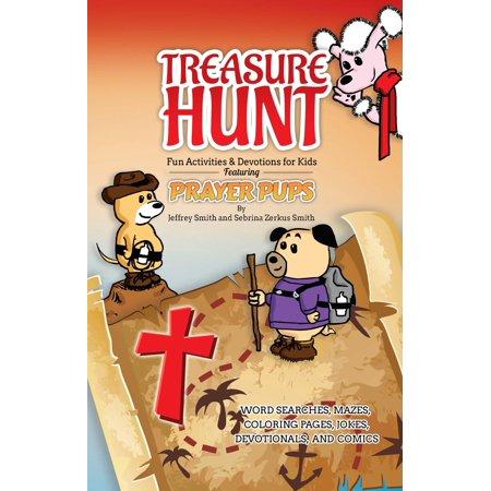 Treasure Hunt : Fun Activities and Devotions for Kids Featuring Prayer Pups](Prayer Activities)