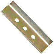 "Hyde Replacement Scraper Blade, 2 1/2"", 2-Edge, High Carbon Steel, 11100"