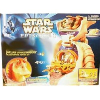 Star Wars Micro Machines 2 Naboo Fish w//Rotating Accessory Part Jar Jar Playset