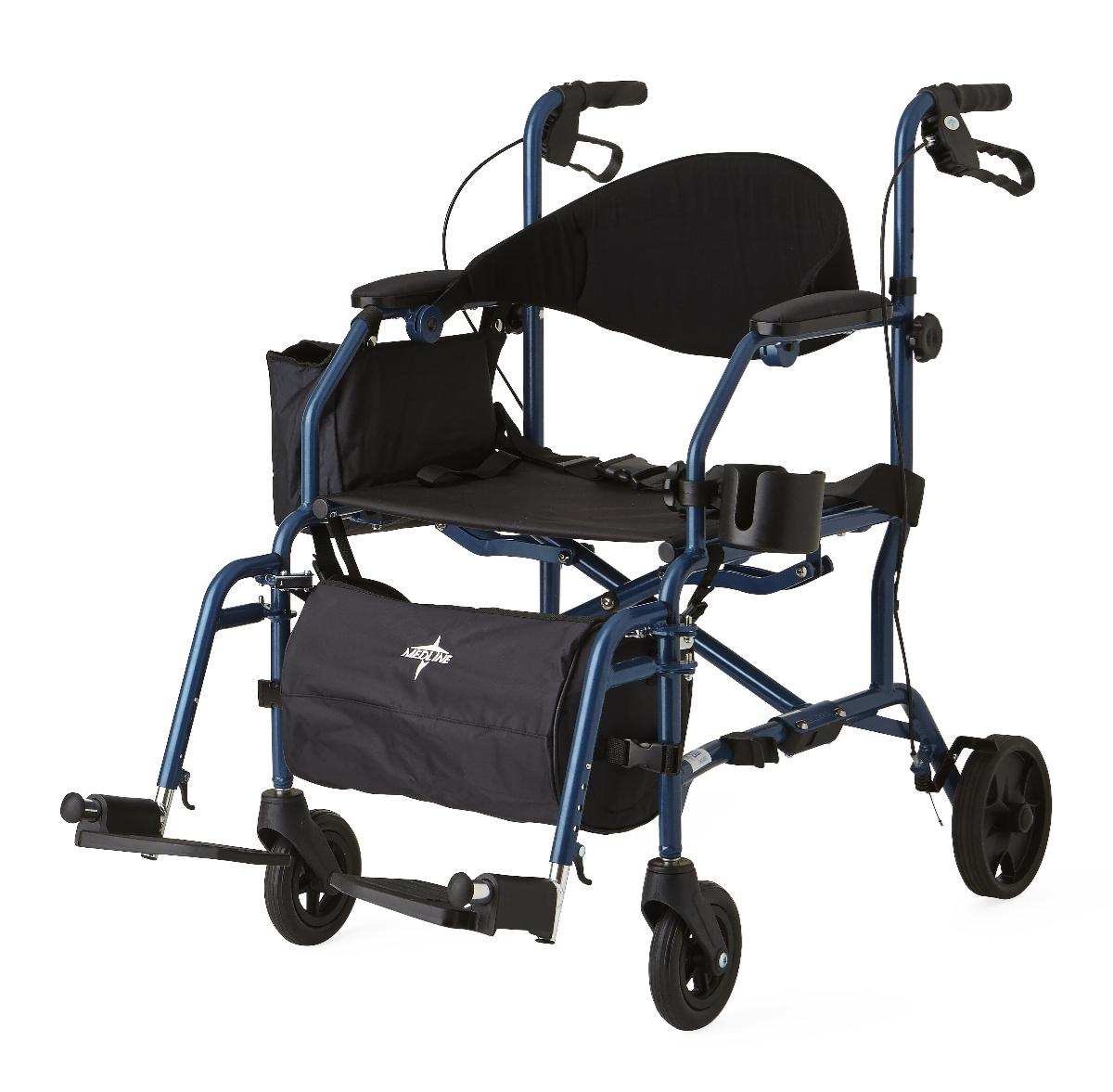 Combination Rollator / Transport Chair - MDS808200TR