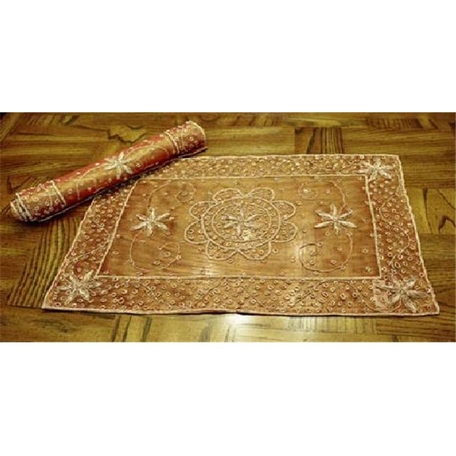 In Creation PLACE MAT EMBROIDERY Zarri Embroidered Placemat