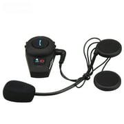 FDC VB Bluetooth 2.1 Interphone Motorcycle Helmet Headset Communicator Speaker System BT Motorbike Intercom Capacete 500M