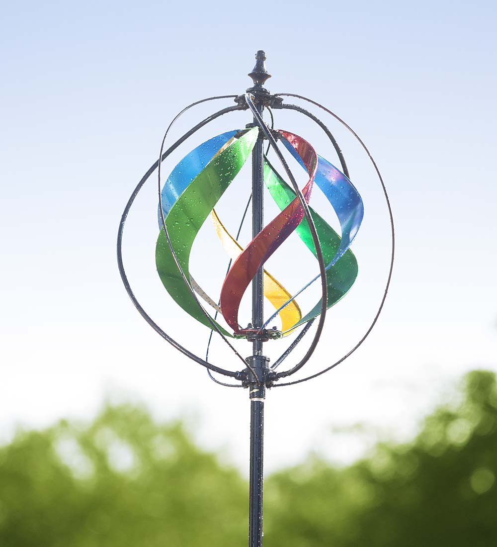 Hydro Garden Wind Spinner and Sprinkler by Plow & Hearth