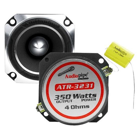 Audiopipe ATR-3231 350 Watt Heavy Duty Titanium Super Tweeter for the Vehicle (Each)