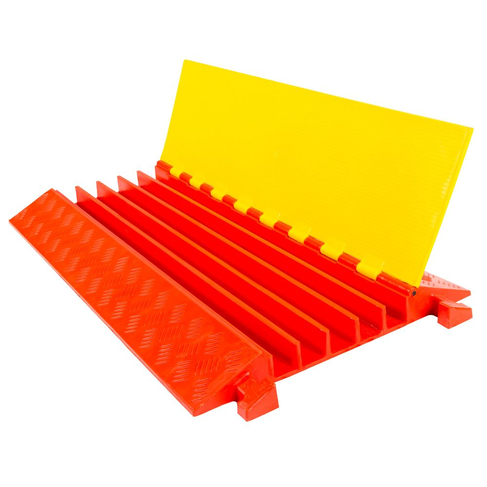5-Channel Heavy Duty Modular Cable Safety Ramp