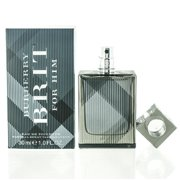 BURBERRY BRIT MEN/BURBERRY EDT SPRAY NEW PACKAGING 1.0 OZ (30 ML) (M)