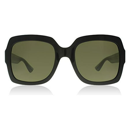 Gucci 0036S 002 Black 0036S Square Sunglasses Lens Category 3 Size 54mm ()