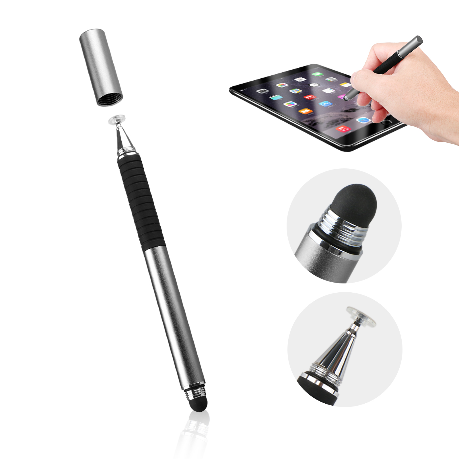 TSV Capacitive Pen Touch For Tablet iPad Phone Samsung PC Screen Stylus Pencil