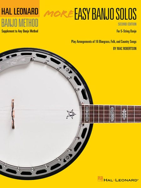 Click here to buy More Easy Banjo Solos by Hal Leonard Publishing Corporation.
