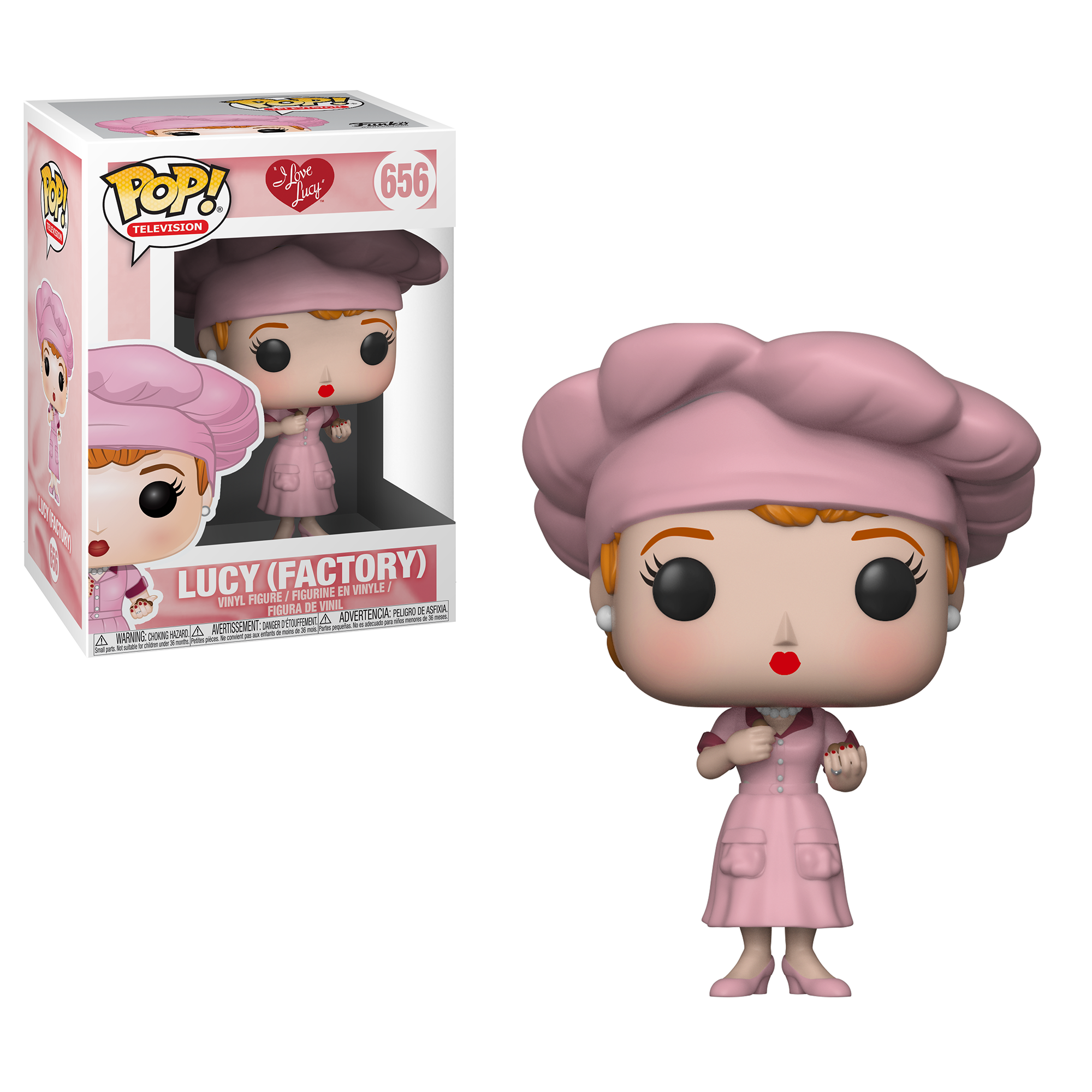 Funko POP TV: I Love Lucy - Factory Lucy
