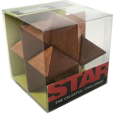 Front Porch Classics Puzzle Logic Wooden Puzzle - Star
