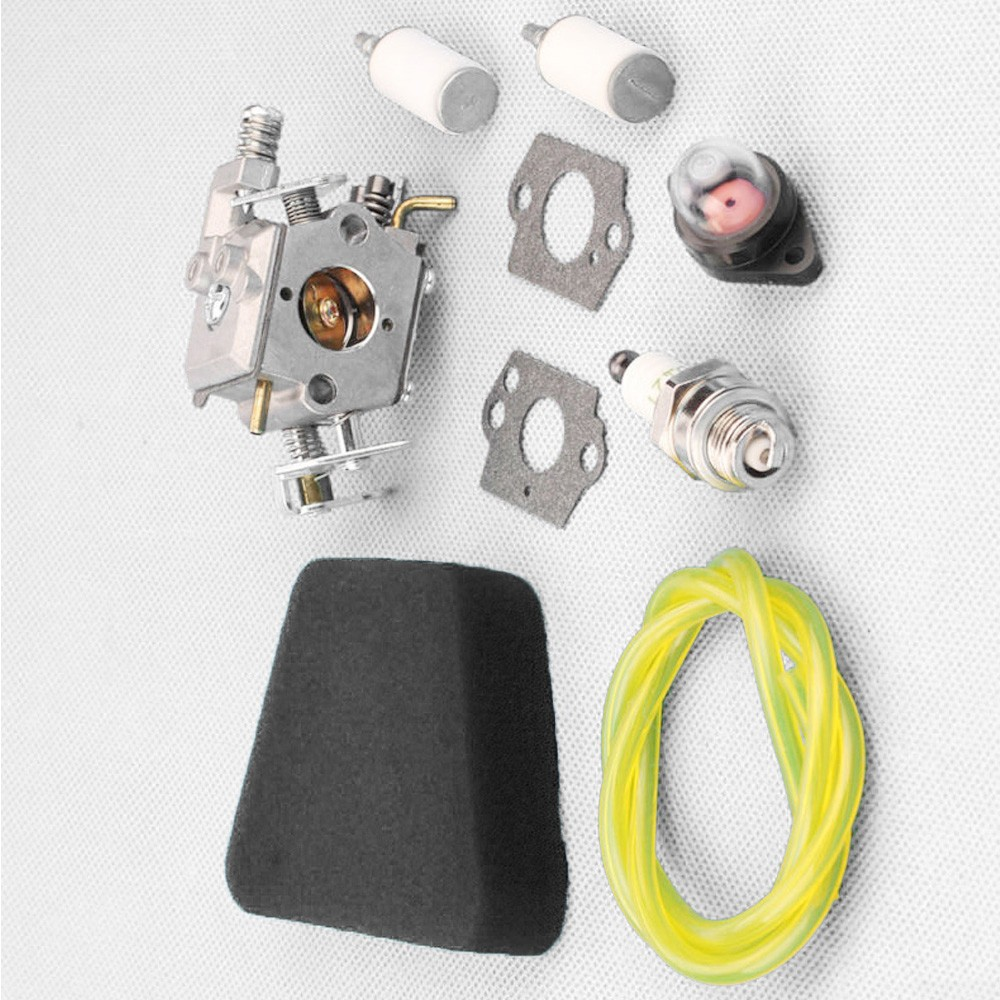 Carburetor Spark Plug Kit For Poulan 2050 2055 2115 2150 2175 2250 2275 2375