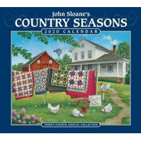 John Sloane's Country Seasons 2020 Deluxe Wall Calendar (Other)