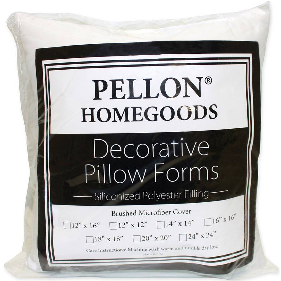 """Decorative Pillow Form, 18"""" x 18"""""""