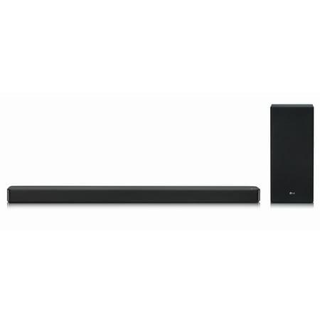 LG 3.1 Channel High Resolution Audio Soundbar with DTS: Virtual: X - SLM6Y