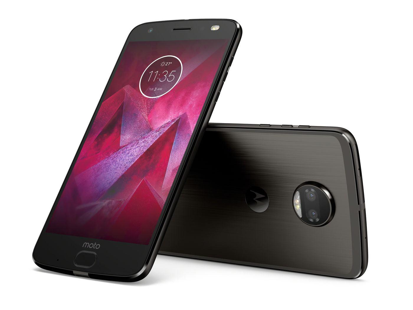 Motorola Moto Z2 Force XT1789 64GB AT&T GSM Global Unlocked Smartphone Fine Gold ( Refurbished ) by