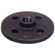 Pannext Fittings B-FLF02 0.25 in. Black Pipe Floor Flange
