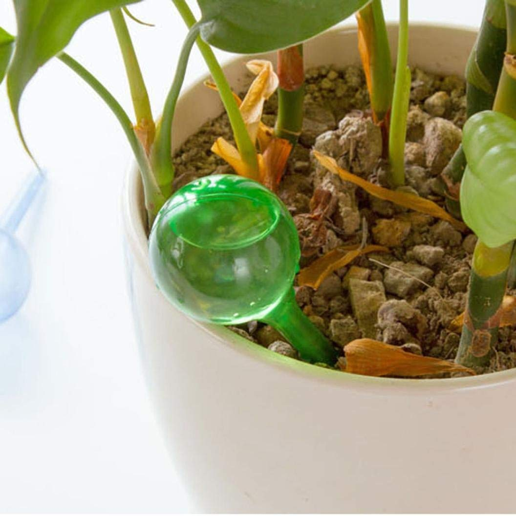 Automatic Glass Bulb Plant Watering Waterer Flower Garden Houseplant Home-Tool