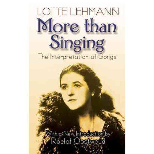 More Than Singing: The Interpretation of Songs