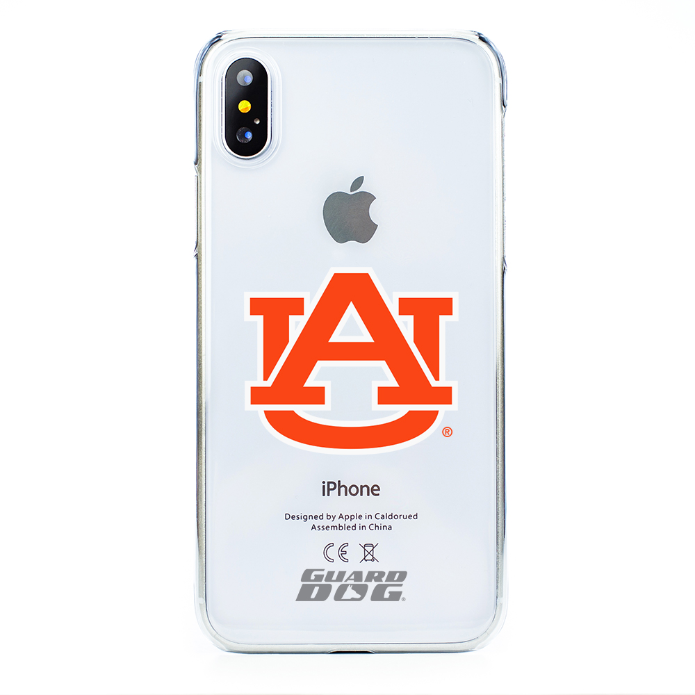 Auburn Tigers Clear Case for iPhone X / Xs