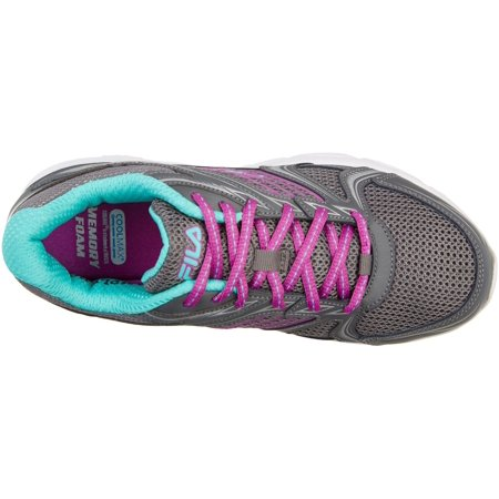 Fila Womens Memory Pacesetter Slip Resistant Athletic Shoes