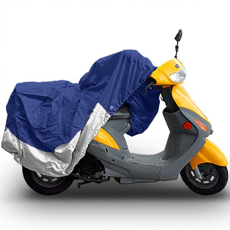 """North East Harbor SUPERIOR TRAVEL DUST MOTORCYCLE SCOOTER MOPED COVER : FITS UP TO LENGTH 80"""" - Works With YAMAHA HONDA SUZUKI KAWASAKI DUCATI BMW APRILIA TRIUMPH BUELL - image 3 of 3"""