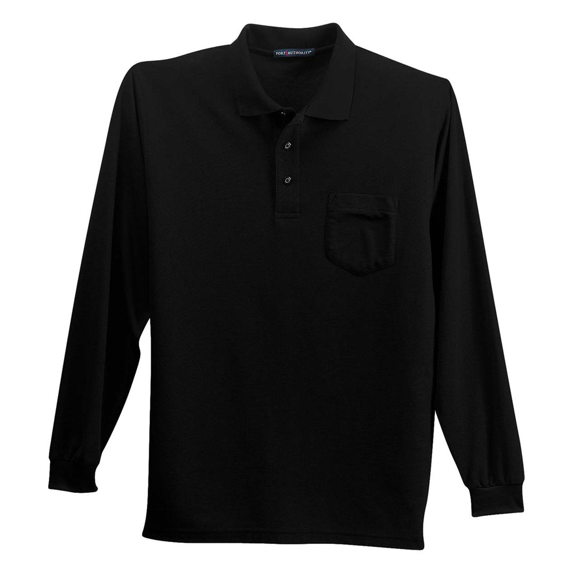 Port Authority Men's Silk Touch 3-Button Placket Polo Shirt